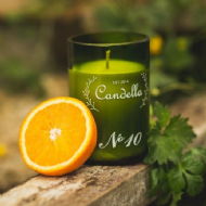 Candella - No 10 # Orange & Coriander Candle